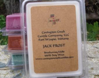 Jack Frost Peppermint 3 or 6 ounce Soy Breakaway Melt