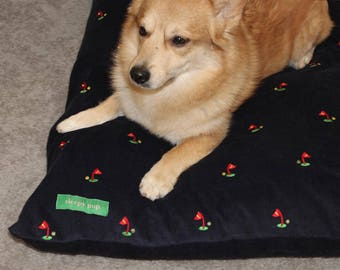 Hole in One Golf Dog Bed Cover
