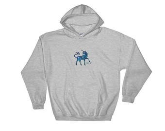 Magic AF Unicorn Hooded Sweatshirt