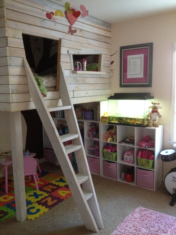 Twin or Full Size Tree House Bed Custom in-house build
