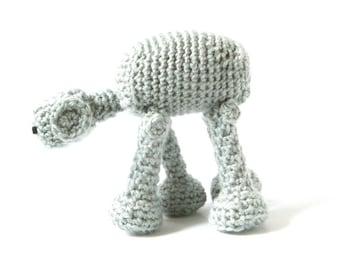 Star Wars AT-AT Crochet Amigurumi Pattern