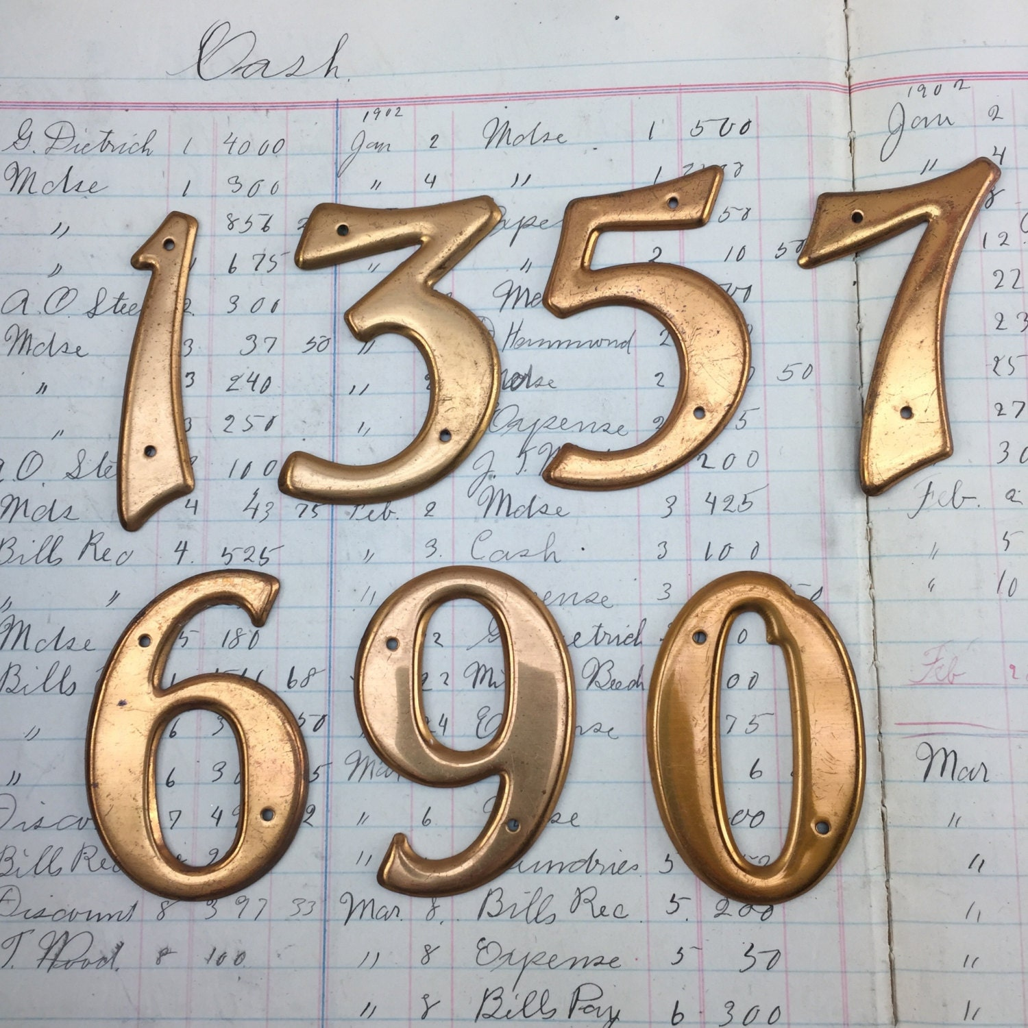 Small Brass Numbers