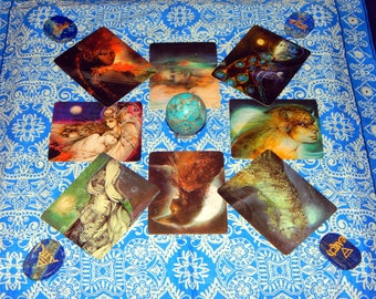 YOUR GODDESS Psychic Reading - Goddesses' knowledge cards oracle reading by Gifted psychic medium Lady Astrelle Wolfsong