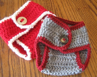 Crochet Diaper Cover - Design your own