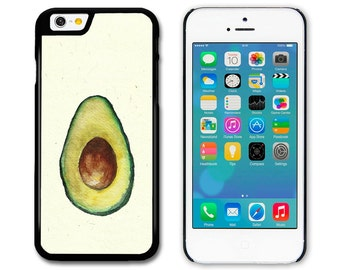 Phone Case, Phone Cover, Avocado Original Art Illustration iPhone, Samsung, HTC and Sony