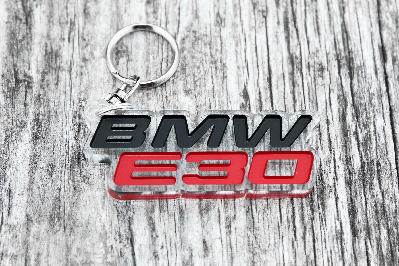 BMW E30 keychain keyring pendant M3 coupe car auto gift
