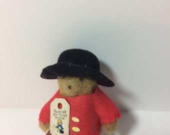 Vintage Wee Paddington Bear Toy/Collectible Figurine