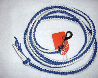 Miniature horse lead braided/dog leash