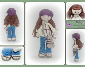 Crochet pattern MissHippie by wool animals