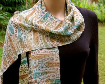 Summer Scarf, Silk scarf