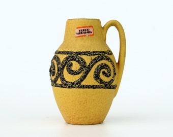 Scheurich fat lava 414-16 vase with handles