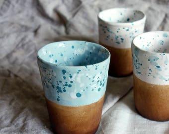Ceramic Cup - Handmade Pottery Mug - Ceramic Tumblers - Handmade Mug - Milk Cup - Juice Cup