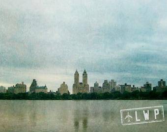 Skyline Decor, Urban Cityscape Decor, Across Central Park, New York Decor, Travel Wall Art  8x12 10x15 12x18 16x24 Fine Art Photography