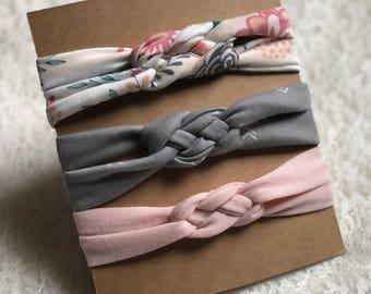 Baby Girl Headband, Sailor Knot, Baby Headband, Baby Headwrap, Baby Bows, Baby Turban Headband, Baby Girl Headwrap