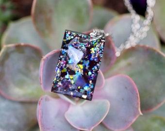 Orgonite® - Orgonite® Pendant - Crystal Jewelry - Necklace - Handmade - Orgone Generator® - Crystals - Gift - EMF Protection - HoodXHippie