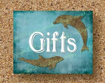 Gifts Beach Wedding Sign, Cruise Wedding, Printable Beach Wedding, Printable Destination Wedding Gifts, Nautical Wedding, Digital File