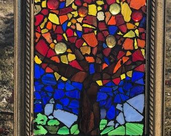 Stained Glass - Tree