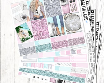 Wanderlust || Travel, Explore, Vacation, Holiday, Planner Stickers, FULL KIT