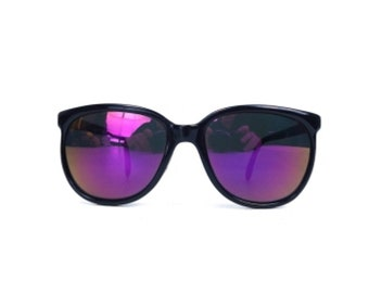 vintage 80s sunglasses NOS black sun glasses retro purple sunglasses men sunglasses women round sunglasses costume cosplay