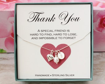 Thank you gift for Maid of Honor, gift for wedding shower hostess gift for baby shower hostess, Thank you gift for friend