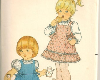 Butterick 3527 Girls Jumper & Blouse Pattern size 4