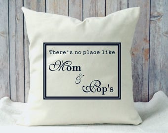 Personalized Grandparent pillow, hard to buy for, Mothers Day gift, mothers day gift