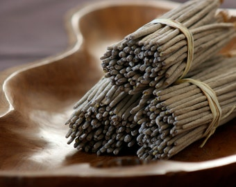 Natural Incense - Mandarin, Lime & Patchouli - Hand dipped - 100% Pure Essential Oils - Home Fragrance - Home Decor
