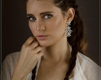 Ivory Wedding Shawl, Diamonds Design . Bridal Ivory sheer shawl With 4 Wearing Ways- Shawl, Shrug, Twist And Scarf. Swiss Dots, Polka Dots