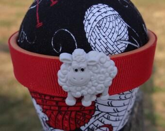 Sheep #1: Stick-It-To-Me! Pin Cushion