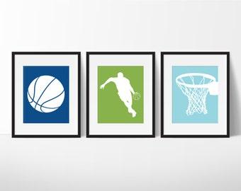 Boys Basketball - Boys Sports Bedroom Decor - Boy Sports Decor - Basketball Print - Teen Room - Children Room - Playroom Decor - Kid Room