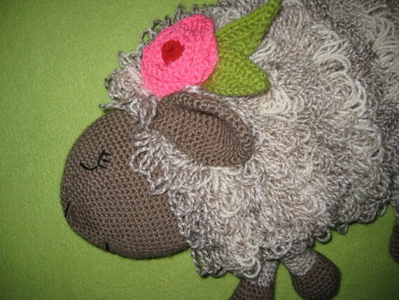 Sheep Hot Water Bottle Cover Cosy Pj Pyjama Case Crochet Pattern Pdf