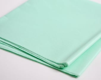 Mint Tissue Paper, 24 Sheets, Mint Green Party Decoration, Wedding, Birthday, Bridal Shower, Baby Shower, Party Supplies, Pastel Green