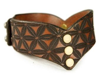 Premium Italian Leather Cuff - The Picos
