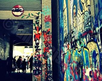 Graffiti Ann Arbor Alley Fine Art Photography
