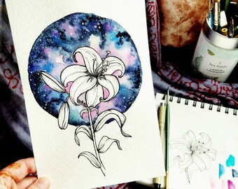 Space Lily ~ Original