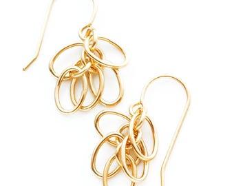 Shaggy Loops 14kt Gold Filled Earrings