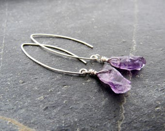 australian earrings moonstone amethyst collections dark stone