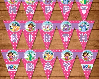 Dora birthday Etsy