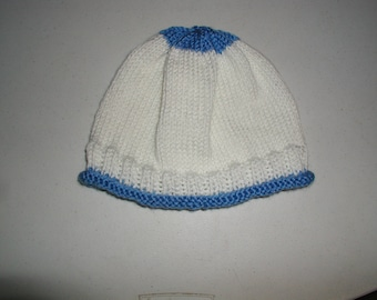 knitted hat for adult woman