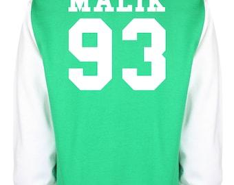Zayn Malik One Direction Varsity Jacket