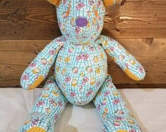 Easter teddy bear