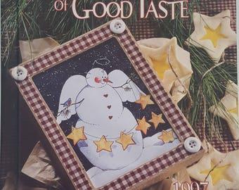 Christmas Gifts of Good Taste Hardback Book - 1997