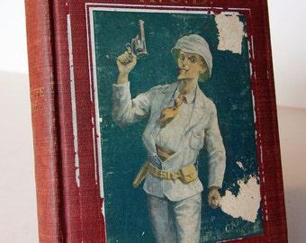 Captain Kettle KCB Red Action Adventure children Travel Hardback illustrated Vintage Book antique