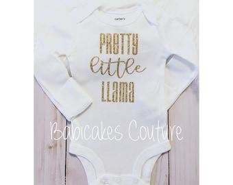 Pretty Little Llama, Newborn Girl Take Home Outfit, Pretty Little Liars, Newborn Photo Outfit, Baby Girl Clothes, Unicorn Baby, Llama Baby