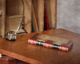 Old Fashioned Desk with Antique Book and Quill Photograph Photography by Colleen Cornelius Bring the Outdoors In Zen Home Decor