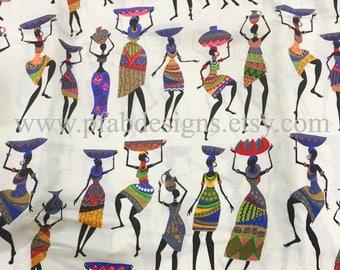 African fabric Mali Wax/ Ankara Fabric /Crafts/ Supplies/ African  Fabric/ Ankara Clothing/Ankara Dress/ Fabric Sold by Yard