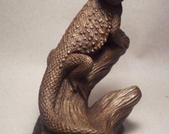 Bearded Dragon Sculpture