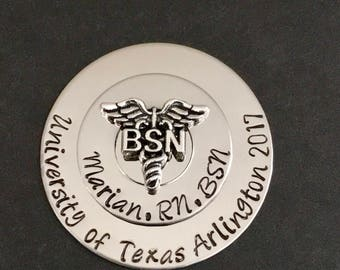 BSN Pin for Nurse Pinning Ceremony | Personalized Nurse Pin for RN Graduation, BSN Pin Nurse Pins, Bsn Nurse Pin, Rn pin