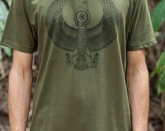 Male Fair Wear and Organic T-Shirt - Horus
