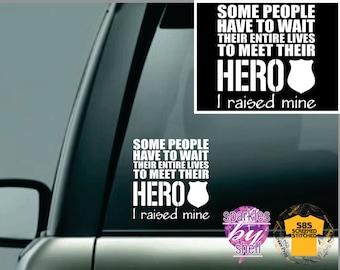 thin blue line, Police sticker, police lives matter, officer,  car sticker, police window sticker, Police Mom, Police Dad, blue lives matter